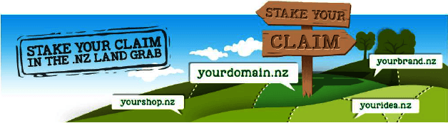 Stake your claim in the .nz land grab